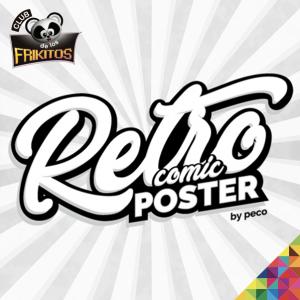 Retro Comic Poster