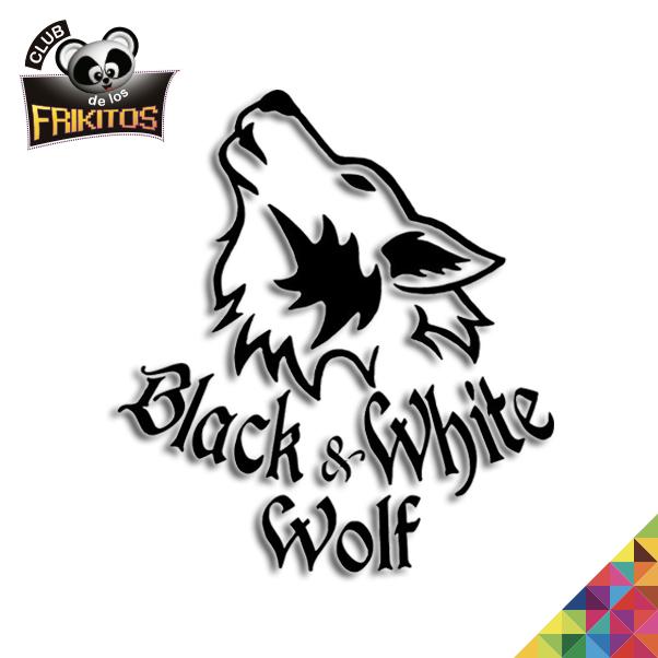 BlackandWhite Wolf