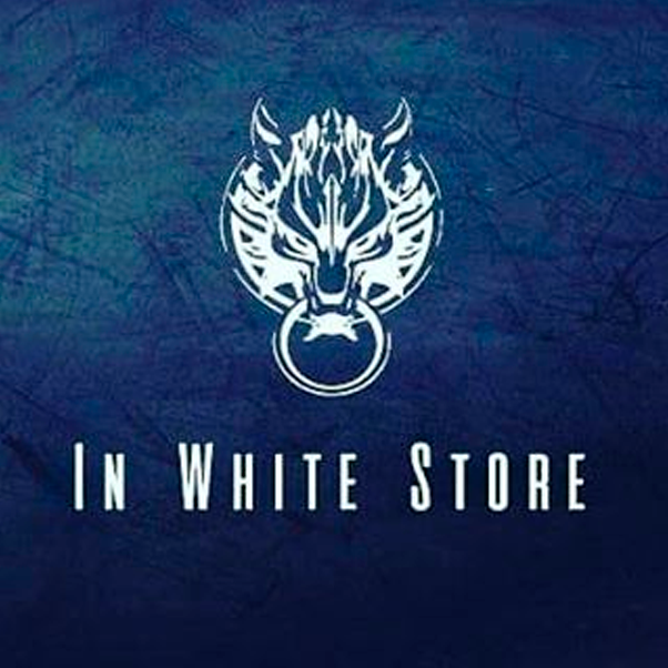 In white store